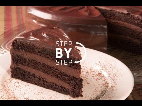 TG Chocolate Cake Recipe, Easy Chocolate Cake: Simple Chocolate Cake From Scratch: Layer Cakes