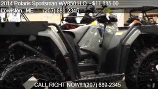 2. 2014 Polaris Sportsman WV850 H.O.  for sale in Lewiston, ME