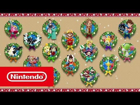 Happy Holidays with Nintendo 3DS family systems!