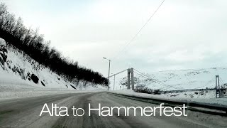 Hammerfest Norway  City new picture : Alta to Hammerfest - Winter Driving in Norway
