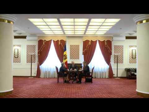 Igor Dodon a participat la ședința săptămînală cu Zinaida Greceanîi și Ion Chicu
