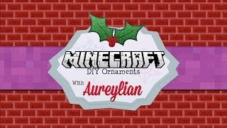 DIY Minecraft Christmas Ornaments - YouTube