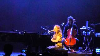Regina Spektor - Don't Leave Me (russian version) Live In Moscow 15.07.2012
