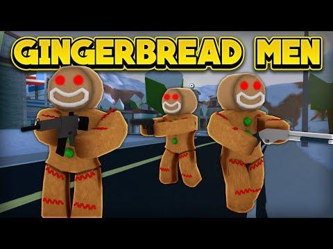 GINGERBREAD MEN INVADE JAILBREAK! (ROBLOX Jailbreak)