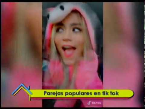Parejas populares en Tik Tok