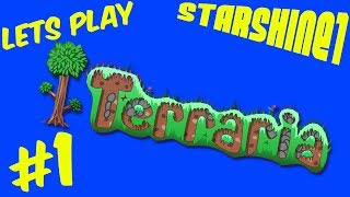 """Please watch: """"Let's Play Terraria Episode 2"""" https://www.youtube.com/watch?v=JzVZ-wSZDfc-~-~~-~~~-~~-~-Yay ! I try out Terraria (Finally)Episode 1 learning the ropes and building a house :)Let's Play Terraria with StarShine1GamesCHECK OUT MY TOP PLAYLISTS MINECRAFT (CRAFTING TABLE TALES) http://bit.ly/1U1PL9IROBLOX http://bit.ly/2opfulULEGO WORLDS http://bit.ly/2nt9xPOSIMS 4 http://bit.ly/1NAwtchPLANTS VS ZOMBIES GW2 http://bit.ly/1szzgbPLEGO DIMENSIONS http://bit.ly/253jhRGCHILD OF LIGHT http://bit.ly/2nw5u6lLEGO STARWARS THE FORCE AWAKENS http://bit.ly/2n0YUZjThank you for every Like, Comment, and Share !Music used: Unison by ApertureVia No Copyright Sounds:http://nocopyrightsounds.co.uk/video/unison-aperture-ncs-release/https://www.youtube.com/watch?v=8VDjPYcL-oUhttps://soundcloud.com/unisonnhttps://www.facebook.com/Unison-57433...https://twitter.com/ItsUnisonLicensed under Creative Commons Attribution 4.0 International(http://creativecommons.org/licenses/by/4.0/)"""