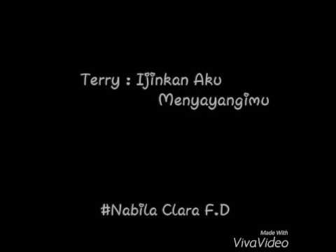 Lirik Terry : ijinkan aku menyayangimu