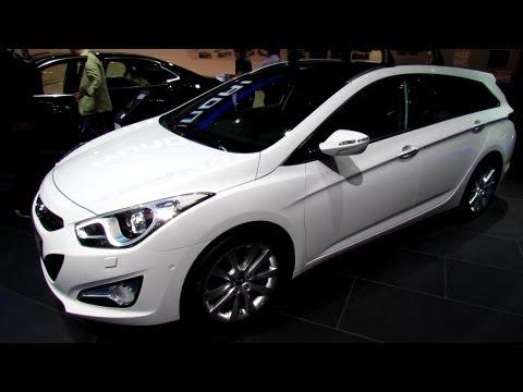 2014 Hyundai i40 Sport Wagon Diesel – Exterior and Interior Walkaround – 2013 Frankfurt Motor Show