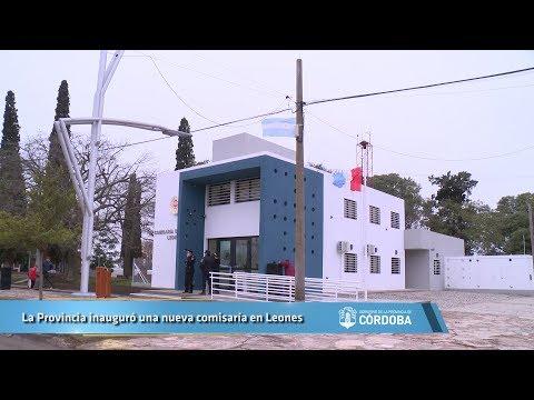 La Provincia inauguró una nueva comisaría en Leones