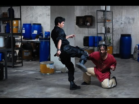 The Raid - Drug Room Fight Scene [HD]