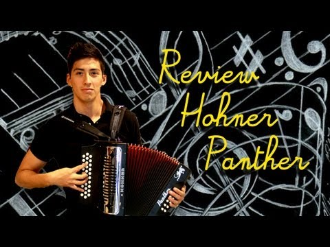 Review accordion Hohner Panther. Análisis del acordeon Hohner Panther. First Look.
