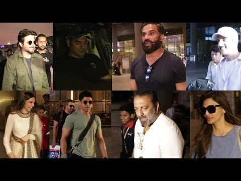 Sanjay Dutt | Suniel Shetty | Deepika Padukone & Many Celebs Spotted At Airport