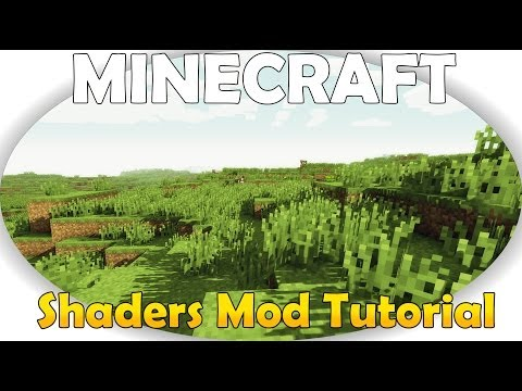 Minecraft 1.7.2/1.7.4/1.7.5 Shaders Mod Instalacja Tutorial (видео)