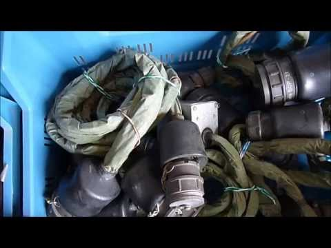 A whole bunch of soviet aircraft maintenance cables