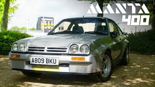 Opel Manta 400: Group B Rally Homologation Legend | Carfection 4K by Carfection