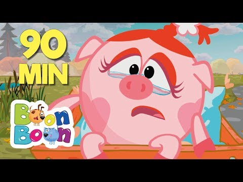 KikoRiki 90MIN - (Psihologul) Desene animate | BoonBoon (видео)