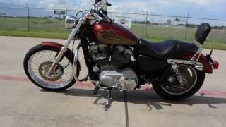 8. $4,199:  Pre Owned 2009 Harley Davidson  Sportster 883 Custom