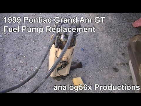 1999 Pontiac Grand Am GT: Fuel Pump Replacement (01.26.14)