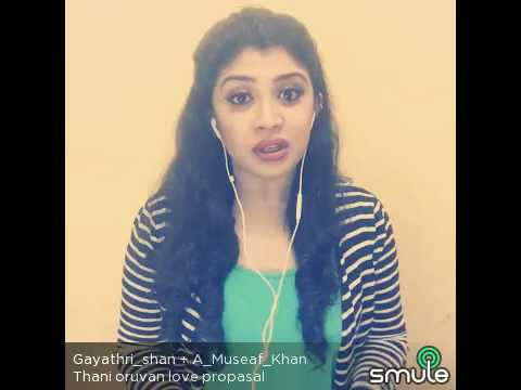 Video Taani oruvan nayan love propose scene in Smule dub download in MP3, 3GP, MP4, WEBM, AVI, FLV January 2017