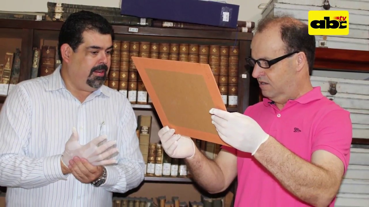 Descubren documentos históricos de la época de la Triple Alianza