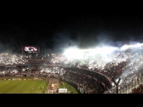 recibimiento de river copa libertadores 2016 - Los Borrachos del Tablón - River Plate