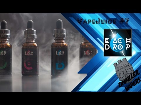 #VapeJuice #7 Each Drop from VAPEOPT.com  /// DnaiCCER Vapers