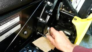 10. Ski-doo chain case oil change