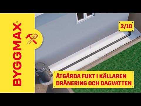 Del 2. Dränering - Åtgärda fuktproblem i källaren