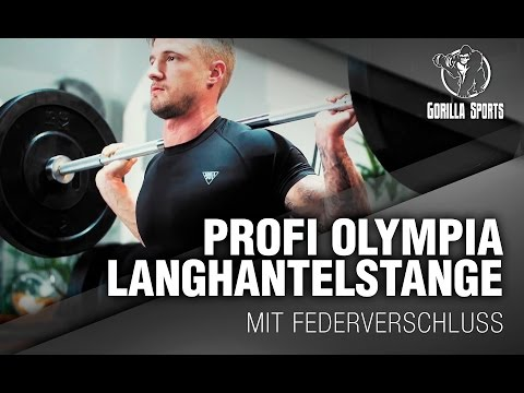 Olympia Langhantel Workout Gorilla Sports