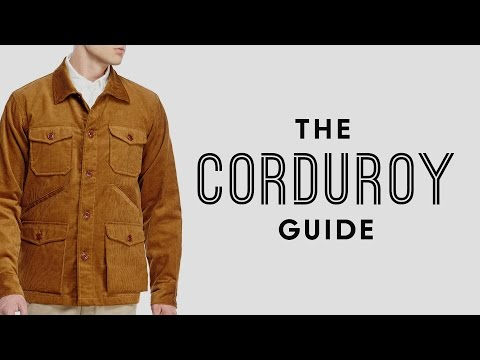 Corduroy Pants, Jackets, Suits & How To Wear, Style + Buy Cords