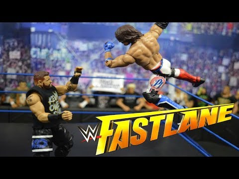 WWE FASTLANE 2018 FULL SHOW REVIEW & RESULTS! WWE FIGURES!