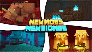 3 New Nether Biomes! Hoglins + More! Explained! - Minecraft 1.16 Nether Update