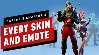 Fortnite Chapter 2: Every Character Skin, Weapon And Emote In Season 1 by IGN