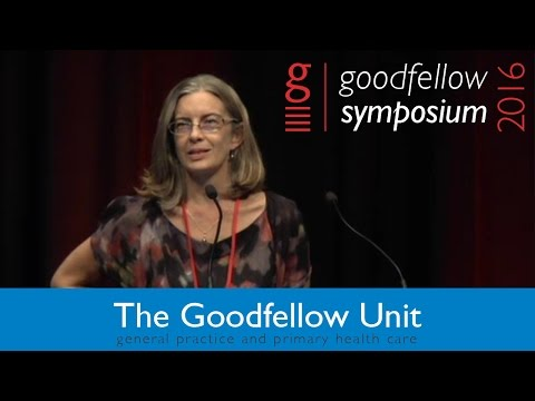 Goodfellow Unit Symposium 2016 - Nicky Perkins - Update on sexual health