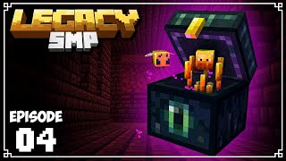 "Legacy SMP - Ep. 04 - ""BACKPACKS"" & SERVER SHOPS! (Minecraft 1.15 Survival Multiplayer)"