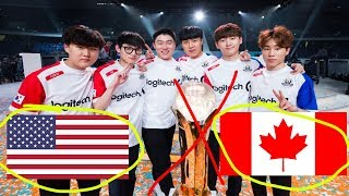 South Korea Will NOT Win Overwatch World Cup! Overwatch World Cup Power Rankings!