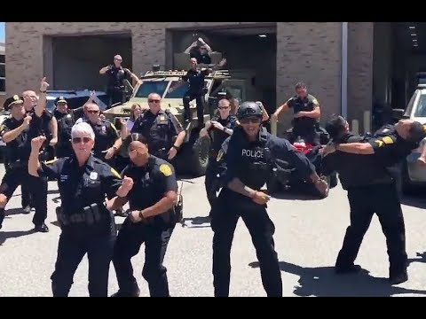 Police Department Lip Sync Battle - Cops Do Uptown Funk by Bruno Mars