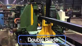 ERWTech Double Blade Flying Cold Saw