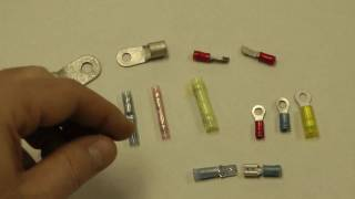 Terminals: Basic overview of aircraft electrical terminals - Youtube - shbruch