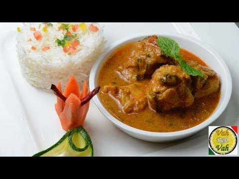 Easy Chicken Curry With Onion Tomato Gravy – By VahChef @ VahRehVah.com