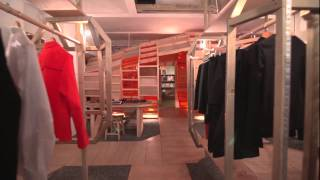 The LN-CC store in Dalston, East London, designed by celebrated set designer Gary Card and nominated for the Design ...
