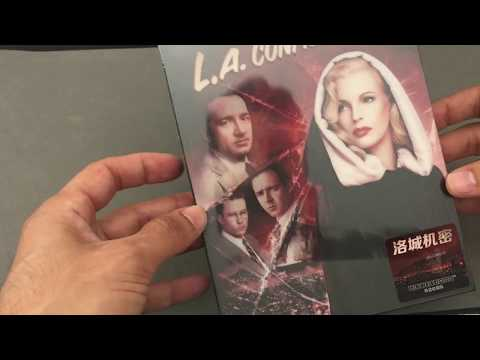 L.A. CONFIDENTIAL  [HDZETA GOLD LABEL #13] STEELBOOK BLU RAY REVIEW + UNBOXING