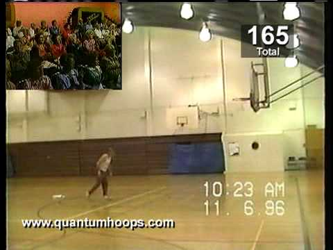 three pointer - http://www.quantumhoops.com/ presents: The world's greatest free throw shooter Fred Newman setting a World Record by making 209 three pointers in a row. Fred...