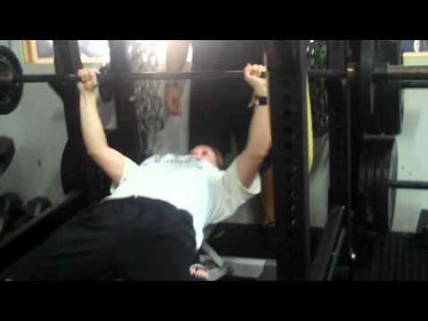 College Softball Strength Training Bench Press on Long Island