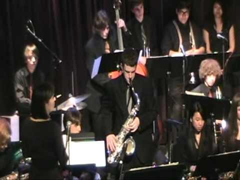 Jackson High School Jazz Ensemble I at Jazz Alley in Seattle 2011