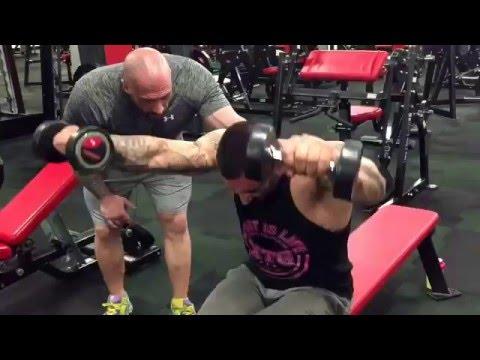 Serie gigante de hombros (видео)