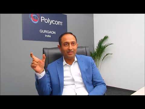 Mr. Ankur Goel, Director, Sales & Channels, Polycom India & SAARC- Part 2