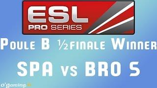 EPS XIII - Poule B - ½ finale W - SPA vs BRO 5
