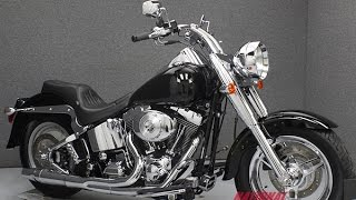 6. 2004  HARLEY DAVIDSON  FLSTF FAT BOY  - National Powersports Distributors