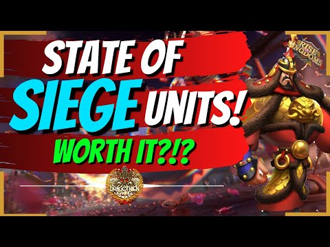 STATE OF THE UNIT SERIES - SIEGE - Rise of Kingdoms